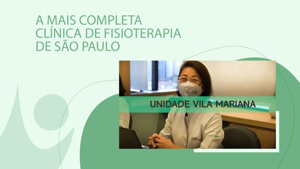 A mais completa clínica de fisioterapia de São Paulo